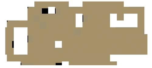 Bellevue logo, beige