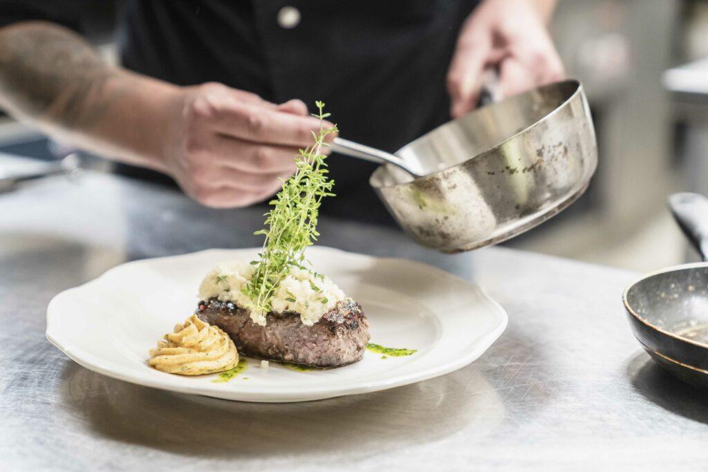 Weinbauer Restaurant Bad Wiessee Am Tegernsee Steak